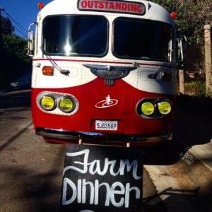Farm Dinner Bus