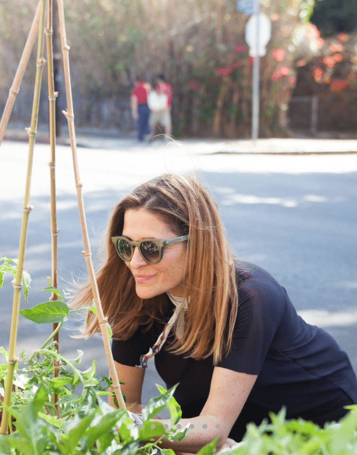 Nicole Landers finding the perfect plant