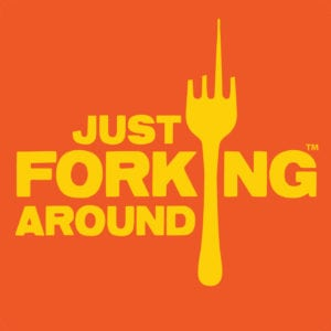 Just Forking Around Logo