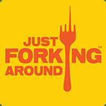 Just Forking Around Logo