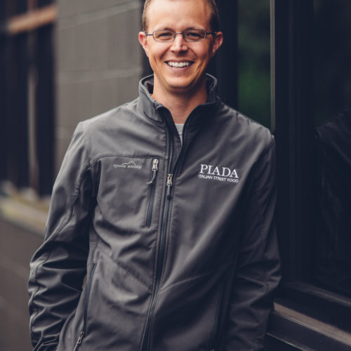 Matt Eisenacher, the Chief Concept Officer for Piada Italian Street Food